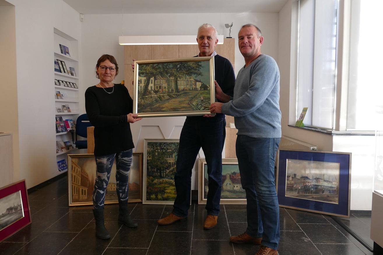 Foto (Jan Buijsse): V.l.n.r. Friedie Kloen, Pieter van Noord, Willem Fortuin.