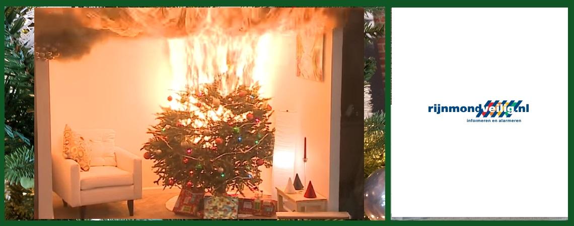 Kerstboom In Brand Zorg Dat Het Jou Niet Overkomt Maassluis Nu