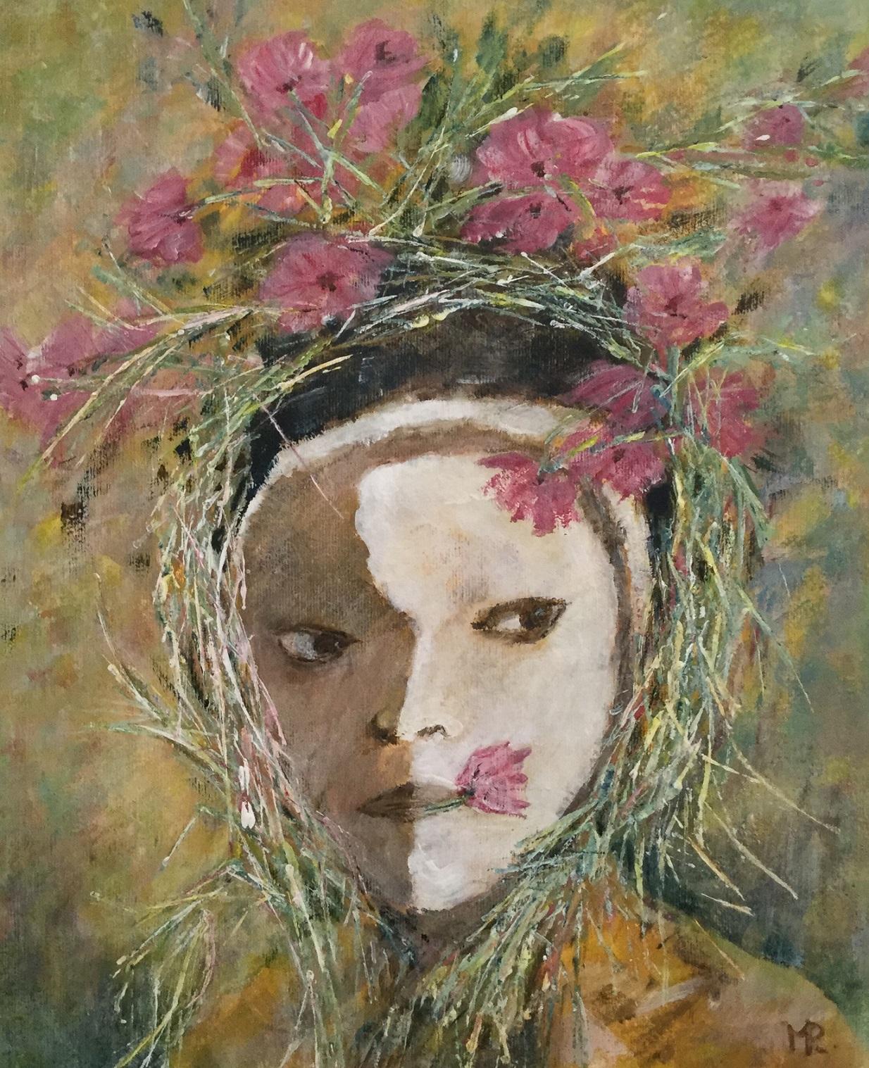 © Marjolein Ploeg - Beschilderd meisje