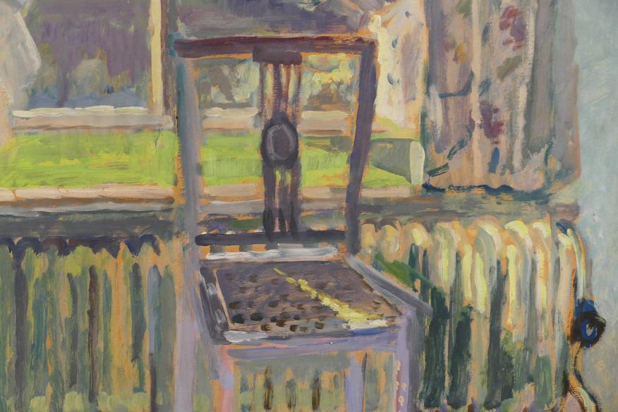 Detail stilleven van Jeanne Bieruma Oosting