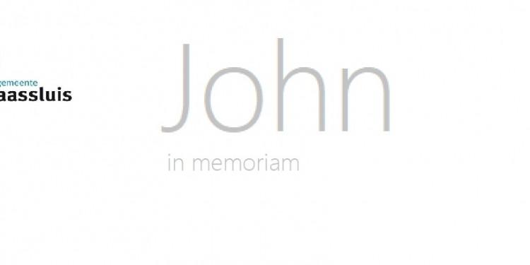 MSLS IN MEMORIAM JohnScheerstra