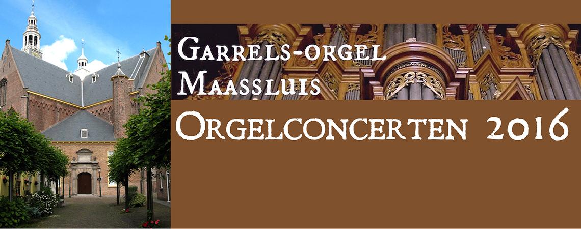 Orgelconcerten 2016