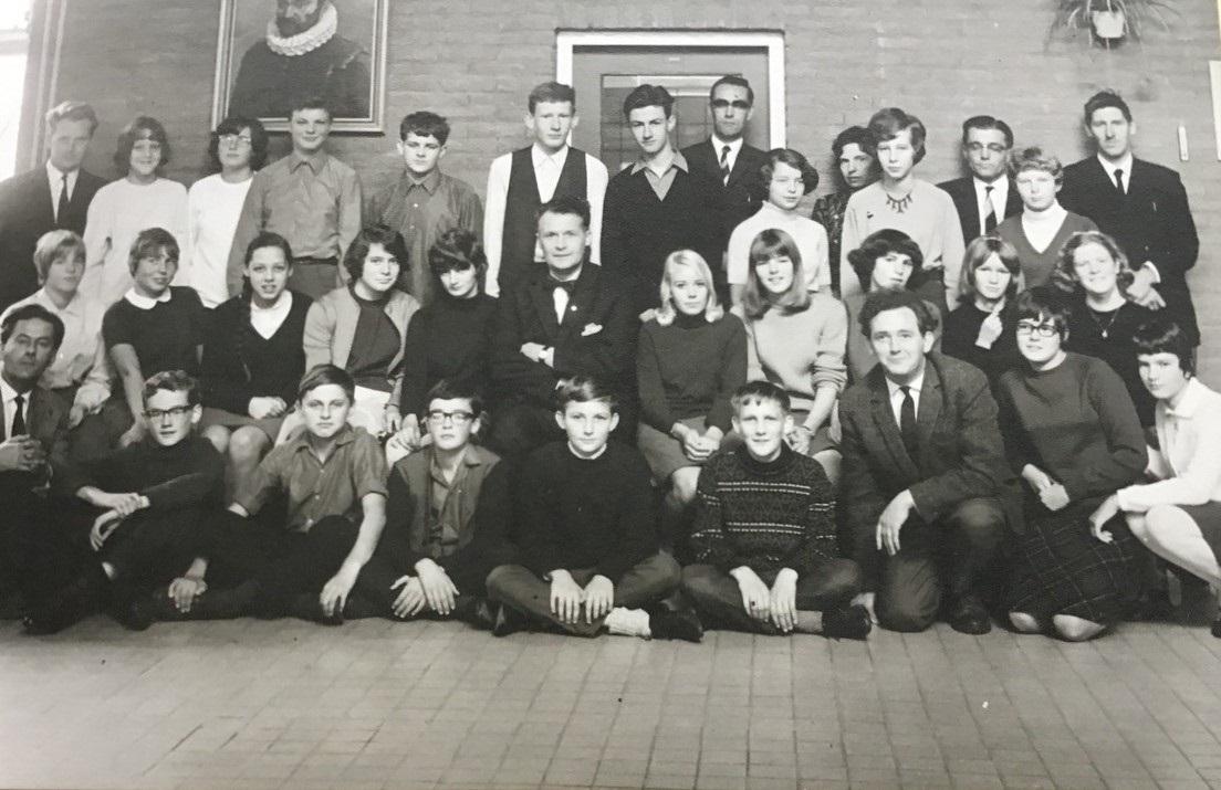 Klas 3A in 1967