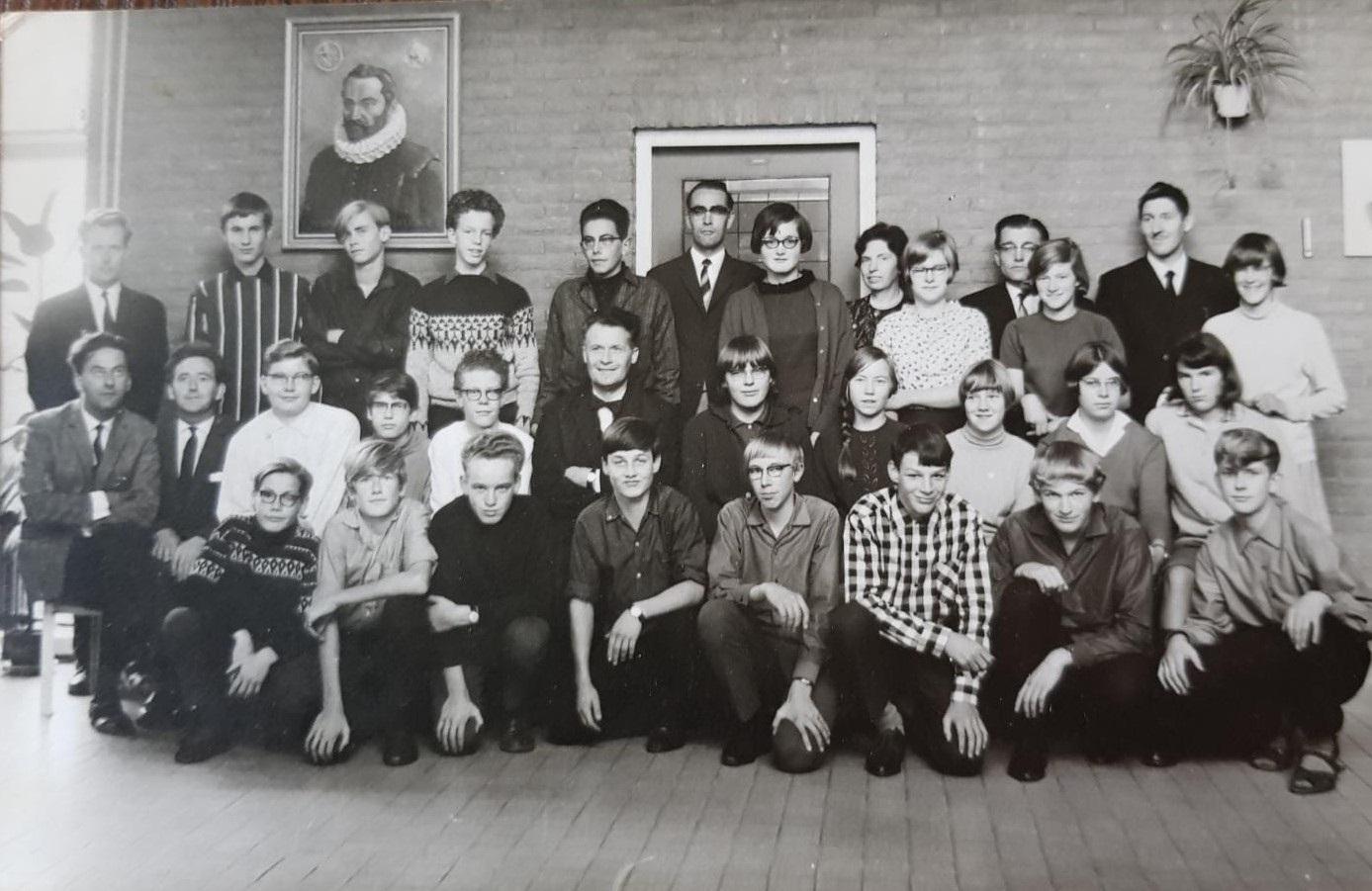 Klas 3B in 1967