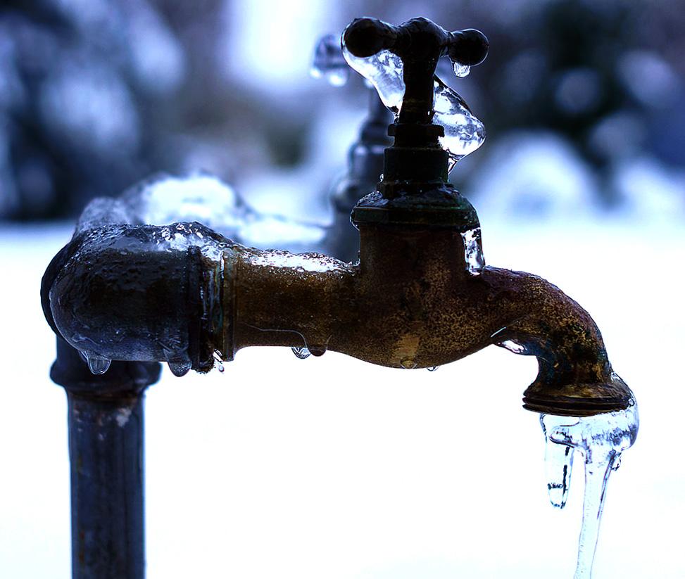 Afbeeldingsresultaat voor waterleiding bevroren