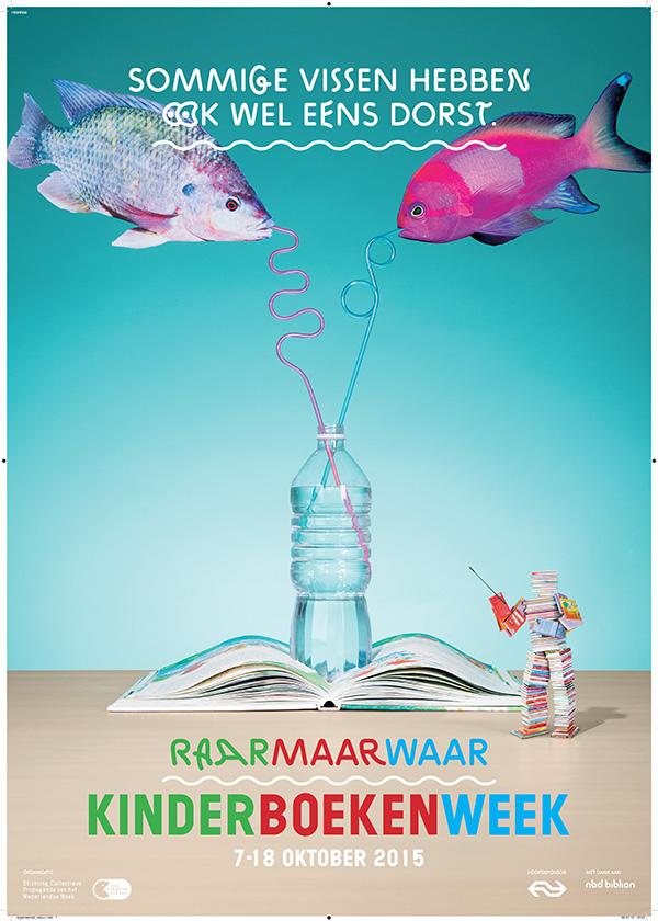 kinderboekenweek 2015 poster